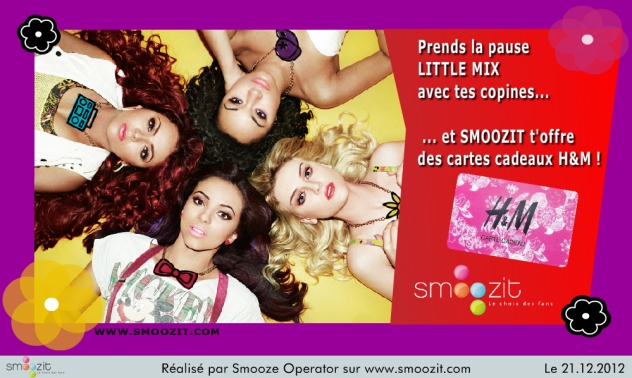 SMOOZIT LITTLE MIX